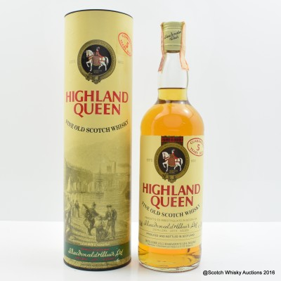Highland Queen 5 Year Old 75cl