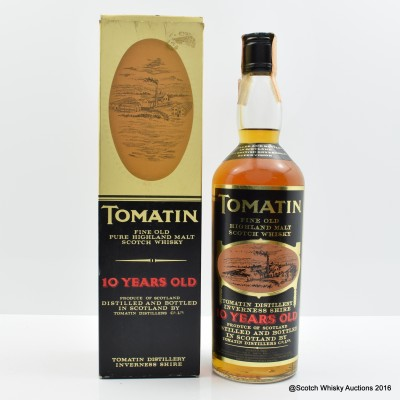 Tomatin 10 Year Old 75cl