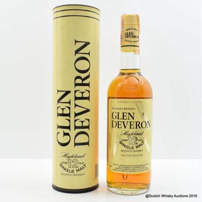 Glen Deveron 12 Year Old 75cl