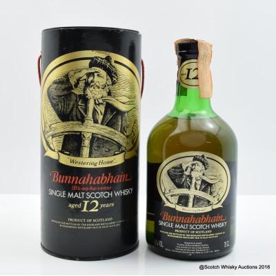 Bunnahabhain 12 Year Old Old Style 75cl
