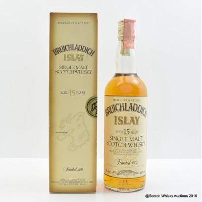 Bruichladdich 15 Year Old Tall Bottle