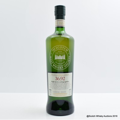 SMWS 36.92 Benrinnes 2002 13 Year Old