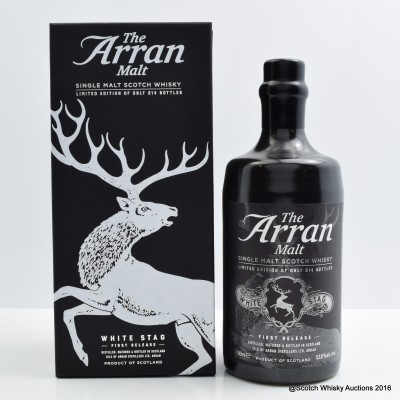 Arran White Stag First Release