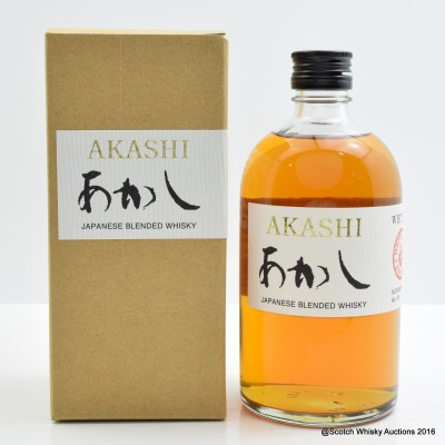 Akashi White Oak Blended Whisky 50cl