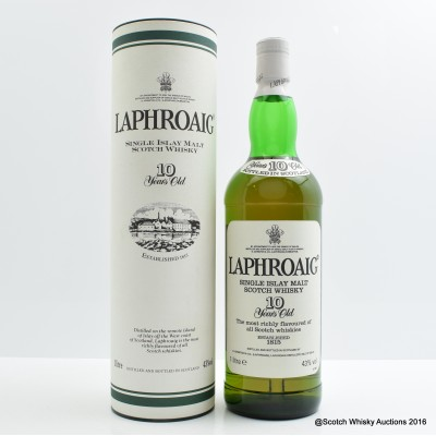 Laphroaig 10 Year Old 1L