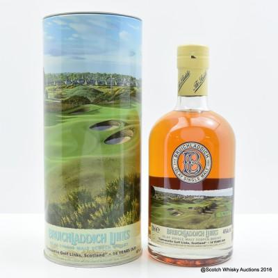 Bruichladdich Links Carnoustie Golf Links Scotland 14 Year Old