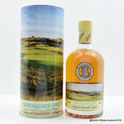 Bruichladdich Links Turnberry 10th 14 Year Old