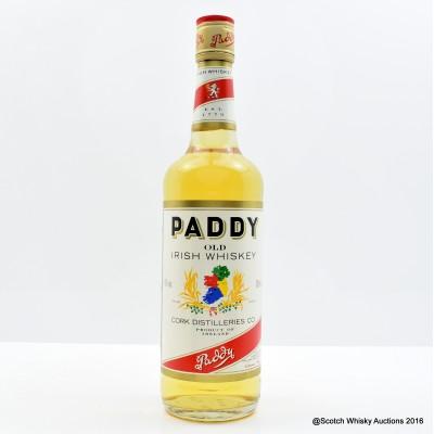Paddy Old Irish Whisky