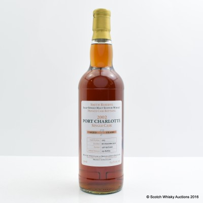 Port Charlotte Private Cask 2002 7 Year Old Smith Reserve