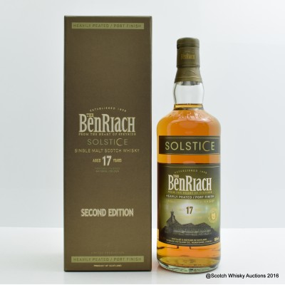 BenRiach 17 Solstice Second Edition