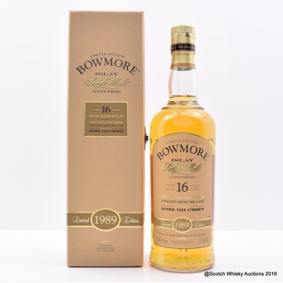 Bowmore 1989 16 Year Old