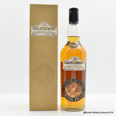 Old Pulteney 1974 26 Year Old Highland Selection