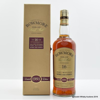 Bowmore 1991 16 Year Old Port Cask