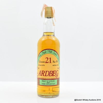 Ardbeg 1974 21 Year Old Sestante Bottling