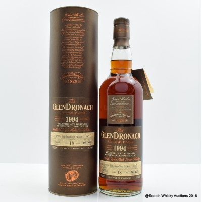 GlenDronach 1994 18 Year Old #3547 UK EXclusive