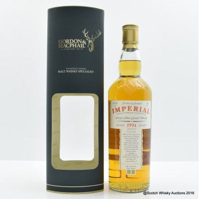 Imperial 1994 Gordon & MacPhail