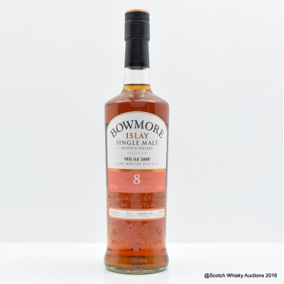 Bowmore Feis Ile 2008 8 Year Old