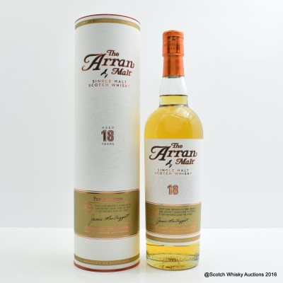 Arran 18 Year Old 2015 Release