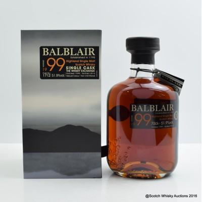 Balblair 1999 Single Cask The Whisky Exchange