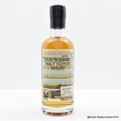 Boutique-y Whisky Co 23 Year Old Blended Islay Malt Batch #1 50cl