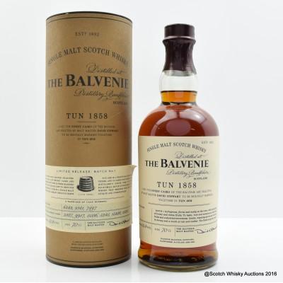 Balvenie Tun 1858 Batch #1