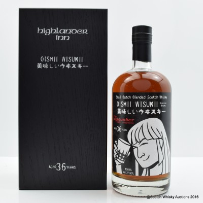Highlander Inn Oishii Wisukii 36 Year Old