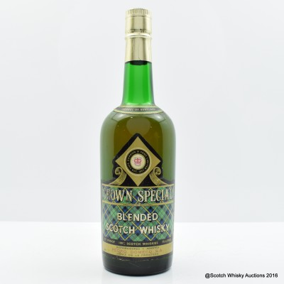 Crown Special Blended Scotch Whisky 75cl