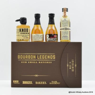Bourbon Legends Mini 4 x 5cl