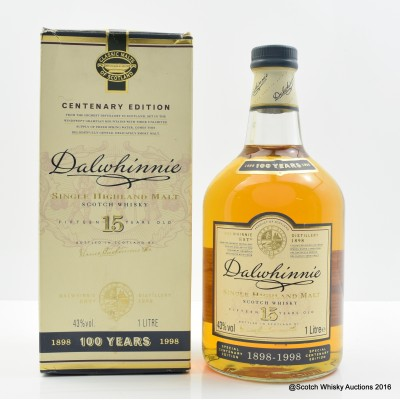 Dalwhinnie 15 Year Old Centenary Edition 1L