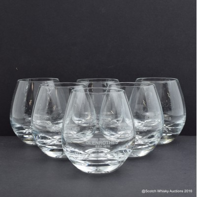 Glenrothes Whisky Tumblers x 6