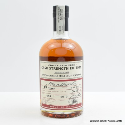 Strathisla 1994 19 Year Old Chivas Brothers Cask Strength Edition 50cl