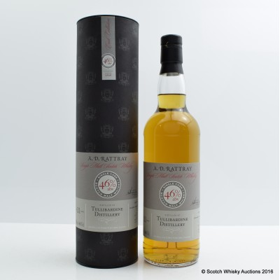 Tullibardine 1990 21 Year Old A.D. Rattray