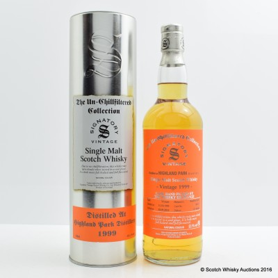 Highland Park 1999 14 Year Old Signatory Whisky Exchange Exclusive