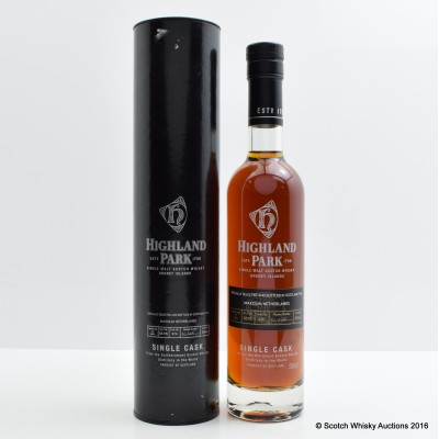 Highland Park 12 Year Old Single Cask For Maxxium 35cl