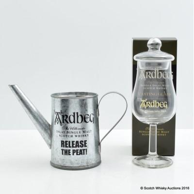 Ardbeg Tasting Glass & Miniature Watering Can