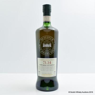 SMWS 71.34 Glenburgie 1998 13 Year Old 75cl