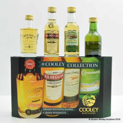 Cooley Collection 4 x 5cl