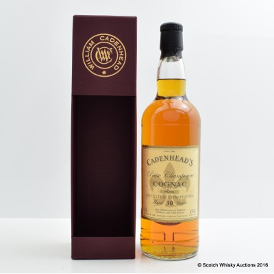 PETITE CHAMPAGNE COGNAC 30 YEAR OLD CADENHEAD'S