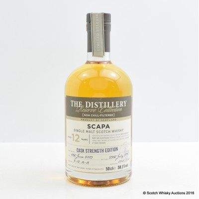 Scapa 2003 12 Year Old Chivas Brothers Cask Strength Edition 50cl