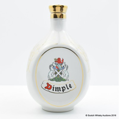 Dimple Ceramic 1989 Year of The Snake 75cl