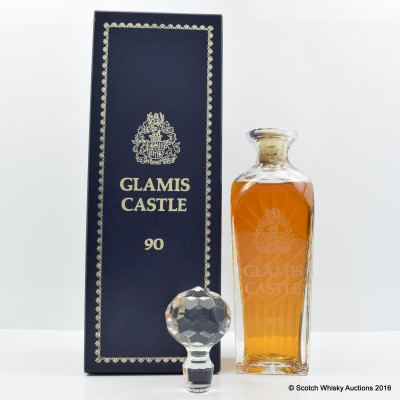 Glamis Castle 90th Birthday Decanter 75cl