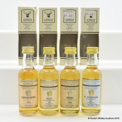 Connoisseurs Choice Minis 4 x 5cl Including St Magdalene 1981 5cl