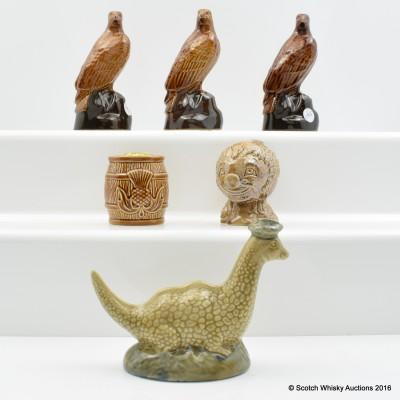 Assorted Ceramic Miniatures 6 x 5cl