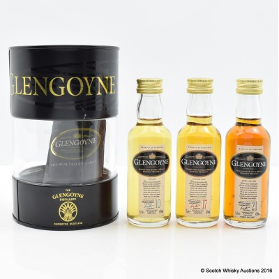 Glengoyne Mini Collection 3 x 5cl