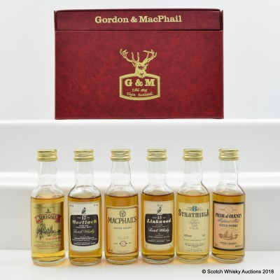 Gordon & Macphail Mini Set 6 x 5cl