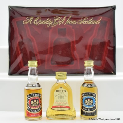 Assorted Miniatures 3 x 5cl Including Blair Athol 8 Year Old 5cl