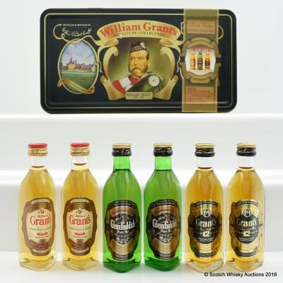William Grant Miniature Collection 6 x 5cl