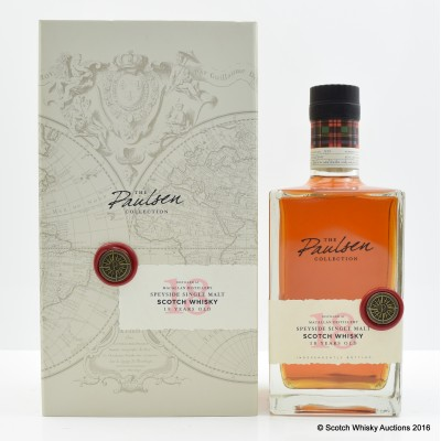 Macallan 1990 18 Year Old The Paulsen Collection