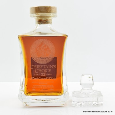 Chieftain's Choice 32 Year Old Crystal Decanter 75cl