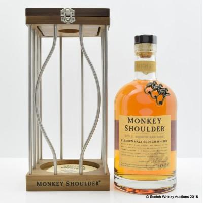 Monkey Shoulder In Cage